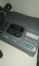 Aparelho de fax Panasonic conservado