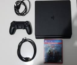 Sony PlayStation 4 Slim jet black 500gb CUH2015A