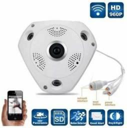Câmera IP Panorâmica VR CAM 3D Wi-Fi