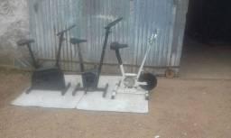 Bicicleta ergometrica condições de uso