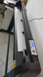 Máquina plotter de recorte para adesivos