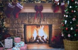 Fundo fotográfico de Natal