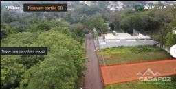 TE0011 - TERRENO Á VENDA NO CENTRO DE FOZ DO IGUAÇU - PR