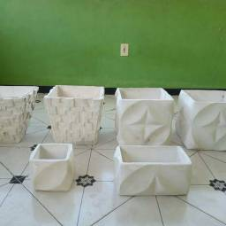 Jarros de cimento estilos 3d
