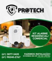 Alarme residencial e comercial Instalado Intelbras