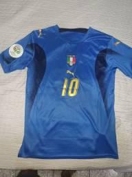 Camisa seleção Itália (nova) Tam M