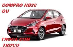 Hyundai HB20 Pago à Vista ou Troca com Troco