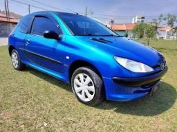 Peugeot 206 1.0 -Soleil -2003 -Gasolina- Completo-Baixo km