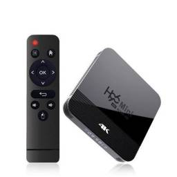 Smart Tv Box H96 mini 2gb e 16gb Transforme sua Tv em Smart