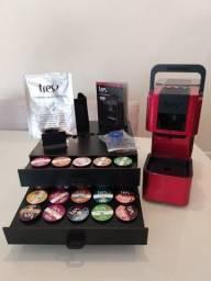 Título do anúncio: Cafeteira Espresso 3 Corações Pop Plus Automática Vermelha - NOVA