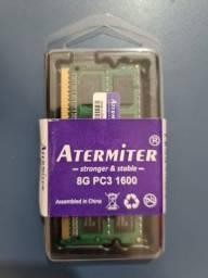Memoria ddr3 8gb pc3-12800 1600mhz - Atermiter