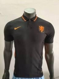 Camisa Holanda Euro 2021 Jogador