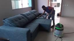 Título do anúncio: Deixamos seus móveis limpos e higienizados com lavagem a seco.