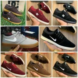 Vendo sapatênis Nike e DC ( 120 com entrega)