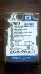 HD 250 GB - Venda ou Troca