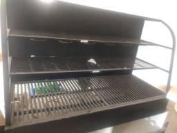 Estufa quente elétrica