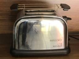 Título do anúncio: Torradeira mallory Tostare Chroma - 110v semi-nova - R$100,00