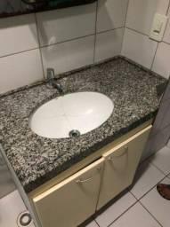 balcão de granito para pia de banheiros S/ Cuba r$ 250