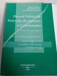 Título do anúncio: Manual Prático de Retenção de Impostos e Contribuições $
