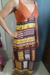 Título do anúncio: Vendo lindo vestido estampado!