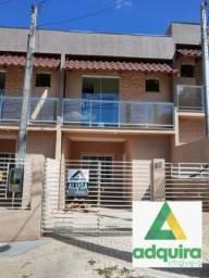 Casa sobrado com 2 quartos - Bairro Oficinas em Ponta Grossa