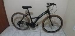Título do anúncio: bicicleta aro 700 de 21 marchas toda alumínio e toda rolamento