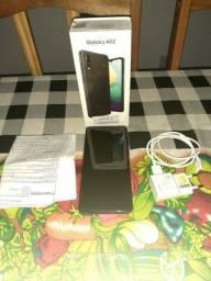 Vendo celular Samsung Galaxy a 02 novinho com um mês de uso