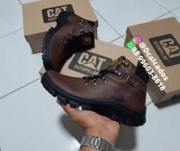 Título do anúncio: Bota Masculina Cor chocolate Couro Lançamento,  N38 ao N44