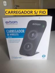 Kit IPhone  - Carregador sem fio - Fone de ouvido c/fio - Carregador Turbo c/fio