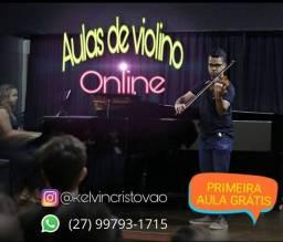 Aula de violino (Online) - 1ª Aula GRÁTIS