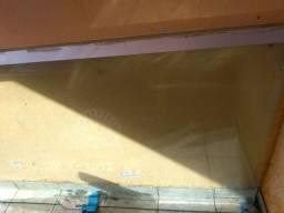 2 folha de porta de vidro