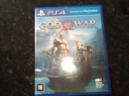Jogo de play 4  God of War 4