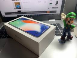 Caixa de IPhone X Silver 64 GB