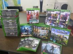 Título do anúncio: Jogos Xbox one e Xbox series