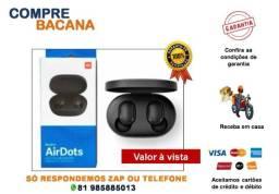 Fone de Ouvido Redmi Airdots Xaomi Bluetooth