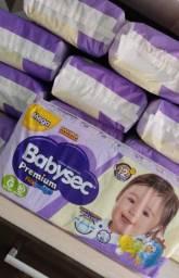Fraldas Babysec Premium G  com 30 unidades