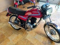 Título do anúncio: Honda CG 125 86 vermelha 4.000 $$