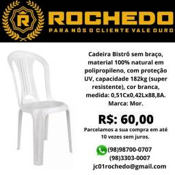 Cadeira bistrô branca