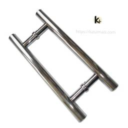 Puxador Tubular H 40cm Brilhante