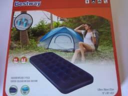 Colchão inflável solteiro para Camping (novo) em Porto Alegre