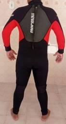 Roupa Borracha Neoprene Masc Mormaii Pro Uv Surfe emborrachado 3mm tamanho M