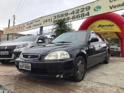 Civic 98 Completo Sem entrada até12 x Cartao de credito