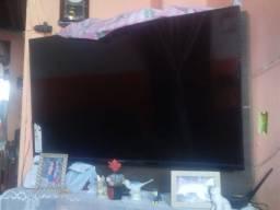 uma tela de tv lcd