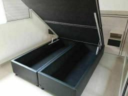 Título do anúncio: Cama box baú queen size(158×198×43) a pronta entrega.