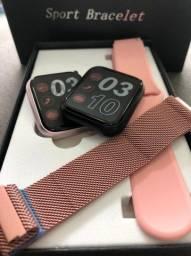 Smartwatch P80 Compartivel Com Android/ Ios-(Lojas WiKi)