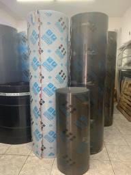 Placa policarbonato 4mm 105 x 600 fume bronze