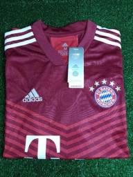 Título do anúncio: Camisa Bayern de Munique 21/22 -Adidas- tamanho M