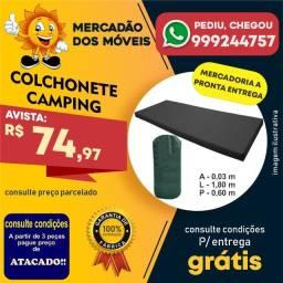 Colchonete Camping - Entrega Grátis