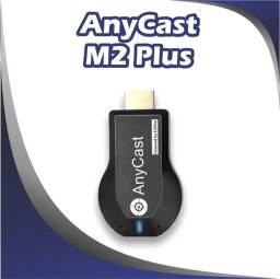 Título do anúncio: Anycast M2 Plus TV Stick Full Hd 1080p Preto Com 256mb Ram