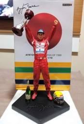 Título do anúncio: Ayrton Senna GP Japão 1988 - Iron Studios